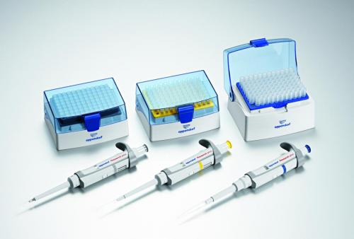 Single channel microliter pipettes Eppendorf Research plus 3-Packs (IVD), variable