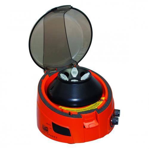 Mini centrifuge LLG-uni<I>CFUGE </I>3 with timer and digital display