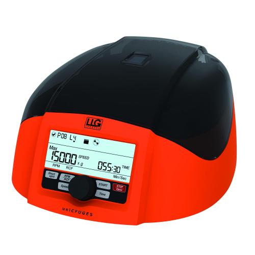 Mini centrifuge LLG-uni<I>CFUGE </I>5 with timer and digital display