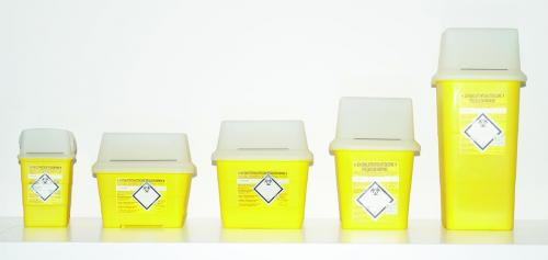 Disposal Container SHARPSAFE<SUP>&reg;</SUP>, PP