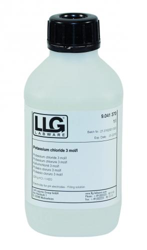 LLG-Electrolyte solutions, KCL