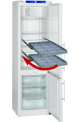Refrigerator drawers AluCool<SUP>&reg;</SUP> including dividers