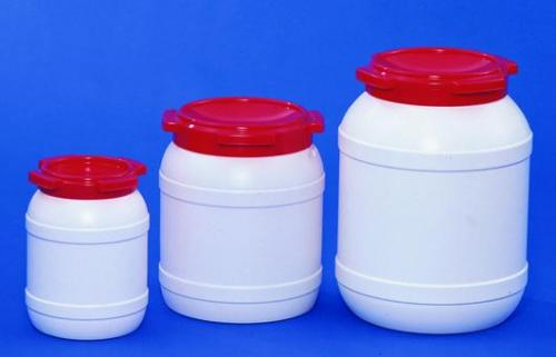 Kegs, wide mouth, HDPE, with UN-approval