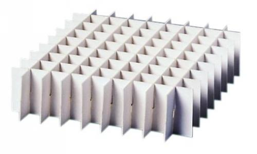 LLG Partition inserts for Cryoboxes, 133 x 133