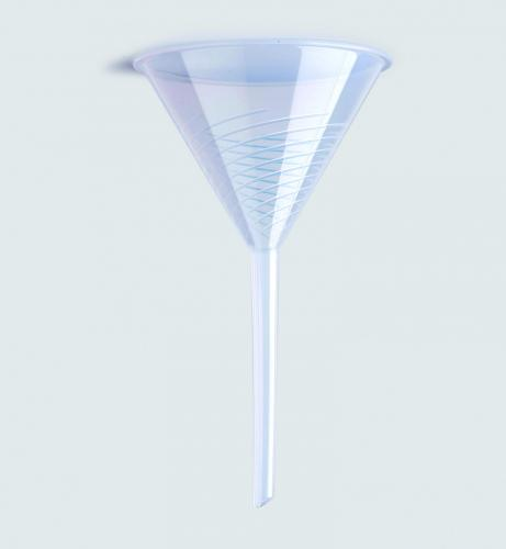 LLG-Fast filtration funnels with internal ribs, PP