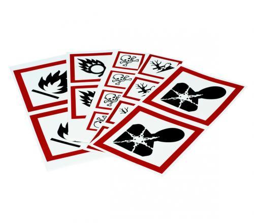 Hazard labels (GHS)