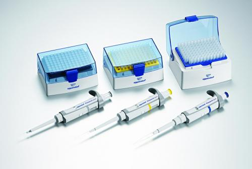 Single channel microliter pipettes Eppendorf Research plus 3-Packs (General Lab Product), variable