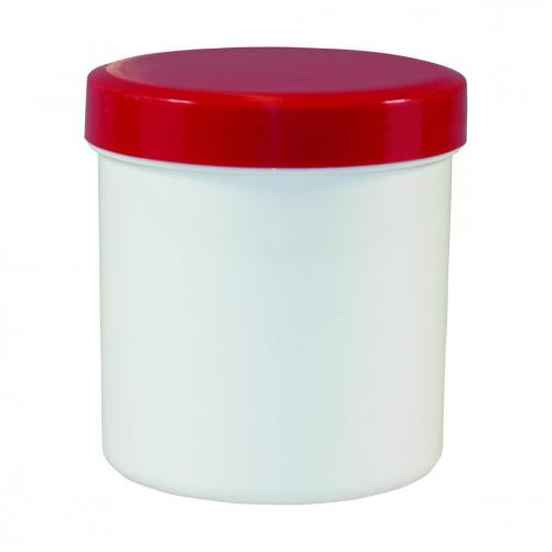 Jars, PP with PP screw cap