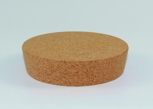Lid in cork for chrome steel Dewar flasks