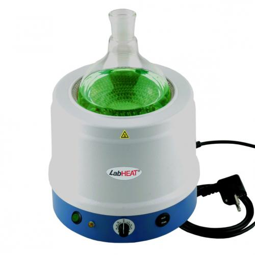 Metal-cased heating mantles series KM-ME, with controller