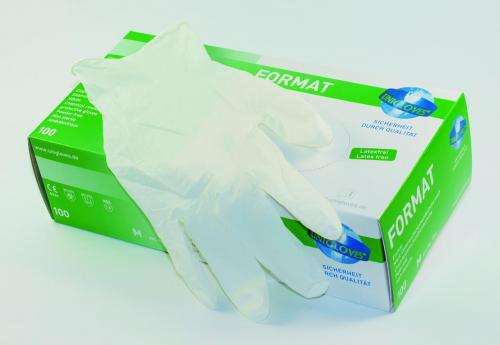 Disposable Gloves Format, Nitrile , Powder-Free