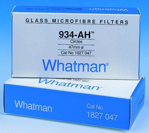 Glass microfibre filters, grade 934-AH
