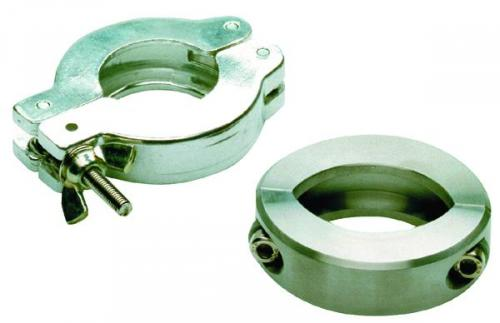 Vacuum fittings, clamping rings for type KF small flange