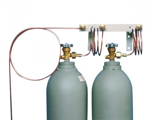 Distribution Lines for Safety Cooling System with CO<SUB>2</SUB>