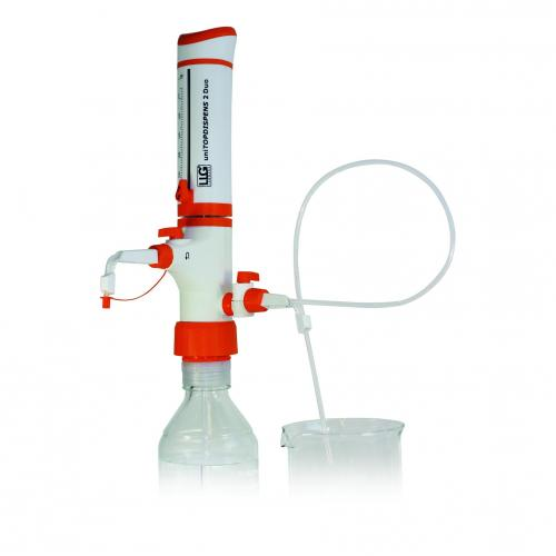 Bottletop dispenser LLG-uni<I>TOPDISPENS</I> 2 Duo