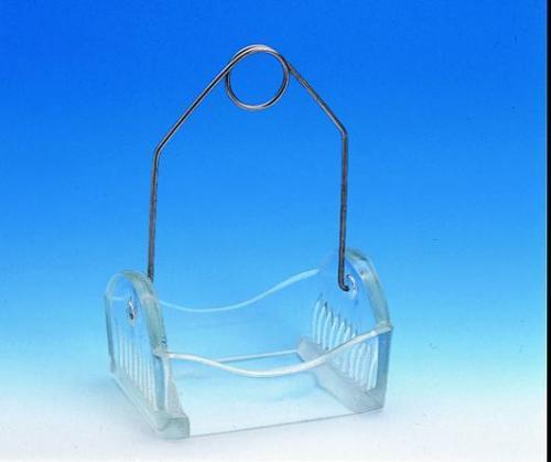 Staining rack, Glass