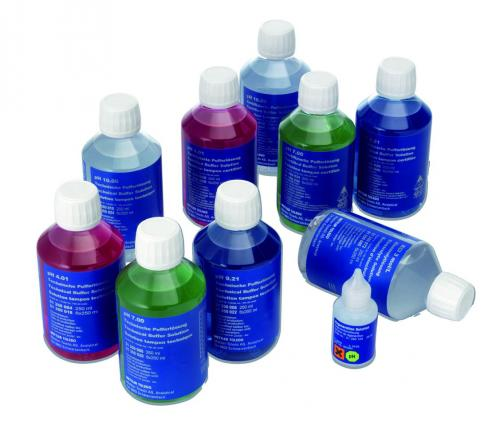 Electrolyte and cleaning solutions for electrodes