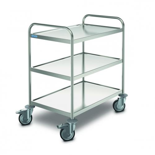 Transport Trolley, stainless steel