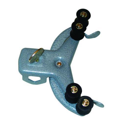Burette roller clamp, steel
