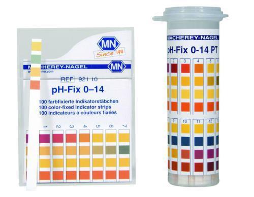 pH-Fix indicator strips, universal