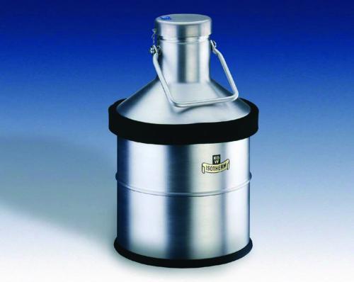 Dewar flasks, spherical, for LN<sub>2</sub>