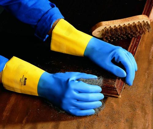 Chemical Protection Glove Alto 405, Neoprene/Latex